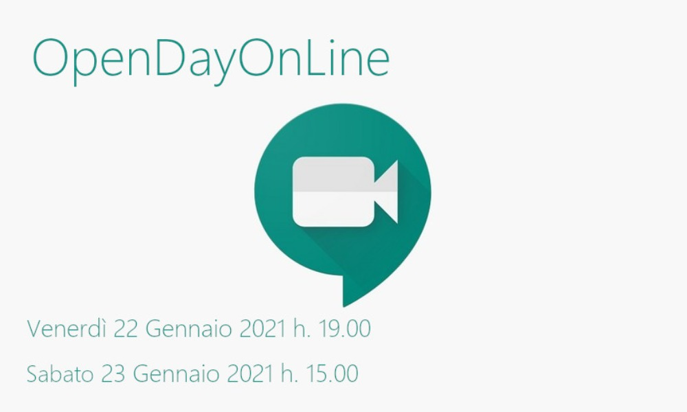 Openday on line